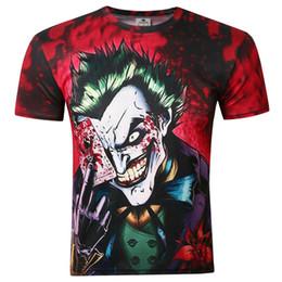 Canada T-shirt maillot de poker dark knight européen et américain t-shirt à manches courtes homme imprimé en 3D supplier american poker Offre