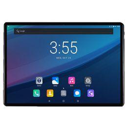 Temperado 2.5D Vidro 10 polegada tablet Deca Núcleo 4 GB de RAM 64 GB ROM 4G FDD LTE 1920x1200 IPS 8.0MP Dual SIM Card Tablet PC 10.1