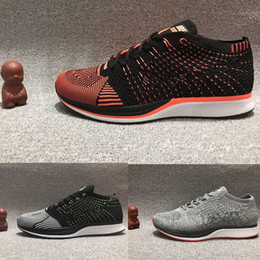 Wholesale christmas lawn - 2018 Christmas Top Quality Wholesale 2017 Men Women Casual Racer Trainer Chukka Black Red Blue Grey Lightweight Breathable Walking Shoes