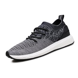 Wholesale first version - The new version of 2018, men's mesh sports casual shoes.Breathable and anti-skid and comfortable.The first choice for outdoor sports.T423