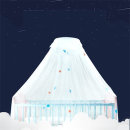 2019 безопасное детское постельное белье Baby Safe Undecided москитная сетка складная потолочная кровать навес плетение Принцесса круглый многоцветный напольный занавес со стентами 40sc jj скидка безопасное детское постельное белье