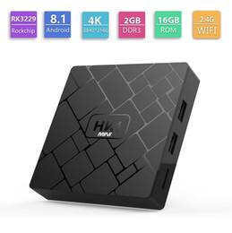2019 decodificador multimedia HK1 Mini Smart TV Box Android 8.1 Octa Core 2GB 16GB Ultra HD 4K 2.4G WIFI TV Reproductor multimedia HDMI 2.0 Decodificador rebajas decodificador multimedia