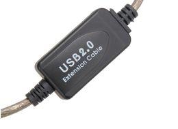 5m / 10m / 15m / 20m Cavo USB 2.0 Cavo di prolunga USB Maschio a Femmina Cavo di prolunga Cavo adattatore per dati ad alta velocità da lampada da tavolo animale fornitori