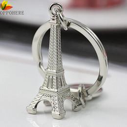 Wholesale Eiffel Tower Paris Key - OPPOHERE Torre Eiffel Tower Keychain For Keys Souvenirs, Paris Tour Eiffel Keychain Key Chain Key Ring Decoration Key Holder