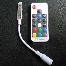 dimmer do painel de toque conduzido 12v Desconto Controlador Remoto Sem Fio de 17 Teclas Sem Fio para 5050 3528 SMD RGB LED Light Strips