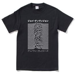 freude schwarz Rabatt Joy Division Japanisches Indie-Rock neues T-Shirt der 80er Jahre