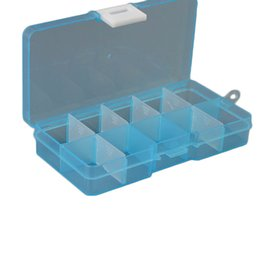 Wholesale plastic parts storage box - 1pc Portable Practical DIY Tools Packaging Box 10 Grids Slots Electronic Spare Part Removable Storage Screw Jewelry Tool Case