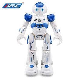 JJRC USB Зарядка Танцы Жест контроля RC Робот игрушки Синий Розовый Интеллектуальный RC Робот RTR Препятствие Избегать движения Программирование для детей Подарок от