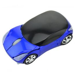 Carro em forma de mouse óptico sem fio on-line-Mouse Sem Fio Computador Ratos Moda Super Car Em Forma de Jogo Ratos 2.4 Ghz Mouse Óptico para PC QJY99