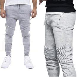 Wholesale leisure harem pants men - Men's Casual Leisure pants Stylish slim fit joggers pants men sweatpants harem sweat pant men sportswear