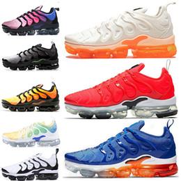 sneakers for cheap 1b169 3356e Nike Air Max Vapormax TN, immagine reale vedi descrizione Cheap 2018 New VM  TNs Plus uomo runnig scarpe Olive in metallo bianco argento Colorways scarpe  da ...