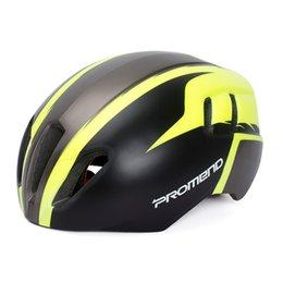 Защитная оболочка онлайн-Велоспорт шлемы унисекс PC Shell EPS прочный шлемы 57-62 см MTB съемный Спорт на открытом воздухе мотокросс велосипед шлем безопасности
