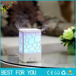 Wholesale spreading machine - New Water Cube Aromatherapy Machine Home Fragrance Lamp Humidifier USB Charging Spread Fragrance Sprayer Home Decor