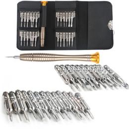 Canada 25 en 1 tournevis kit d'ouverture outil de réparation pour iphone x 8 7 6 5 pour pc, lunettes, téléphone portable, montre, appareil photo numérique Offre