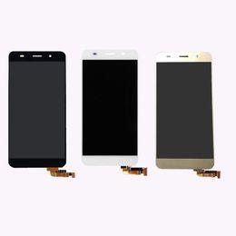 Сенсорный экран lcd цветной монитор онлайн-Для Huawei 5.0 дюймов Honor 4A Y6 3 Цветной сенсорный экран планшета Датчик стекло + ЖК-дисплей Монитор Экран Панель Модуль в сборе