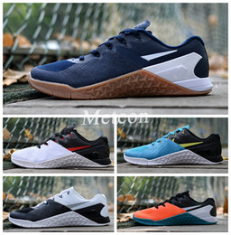 Wholesale Sports Casual Wear - New METCON 3 men's sports running shoes casual wear-resistant running shoes non-slip training shoes sneakers size 40-44 Free shipping