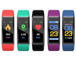 2019 mobile nachrichten Authentic 115 Plus Smart Wristband Für iPhone Android Smart Handy 90 mAh Batterie Nachricht Erinnerung Touchscreen Bunte Armbänder günstig mobile nachrichten