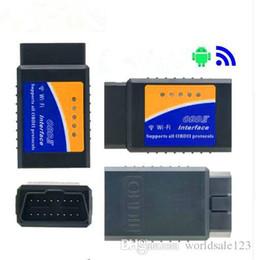 2019 vcm quality Супер мини ELM327 Wifi V1.5 OBD2 OBDII код читателя ELM 327 автоматический диагностический сканер инструмент ELM-327 беспроводной для Android iOS телефон