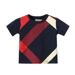 2019 bolas de kong Meninos Tops Verão 2018 O -Neck Manga Curta De Algodão Estilo Europeu E Americano Meninos Camiseta Para 1-6 T Da Marca T Shirt roupas