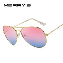 Wholesale Yellow Sea Glass - MERRY'S Fashion Unisex Sun glasses Classic Sea Gradient Shades Brand Designer Sun glasses UV400