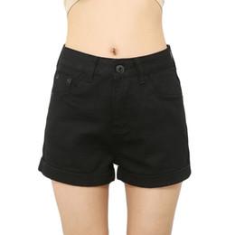 Canada Shorts d'été taille haute jeans cintrés pour les femmes blanches surdimensionnées jeans lâches shorts lady noir crayon denim rose supplier oversized pencils Offre