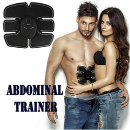 mobile fitness Rabatt NEUESTE !!! EMS-Muskel PAD SMART FITNESS Schönheit Körper Stimulation fit Boot Toning Training sechs Power Pad mobile Gym