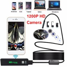 Freeshipping 8LED 3.5M Soft Hard Snake flessibile USB WIFI Android IOS fotocamera dell'endoscopio 1200P HD 8mm IP68 Impermeabile Pipe Inspection Camera da