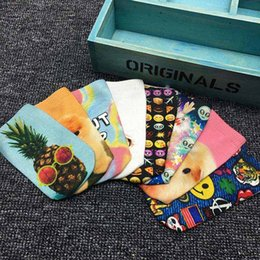 Wholesale Wholesale Animal Skulls - Hot sale New 2018 3D Socks Collection Kids Women Men Hip Hop Cotton Cartoon Skateboard Socks Emoji Skull Printed Children Socks A1561