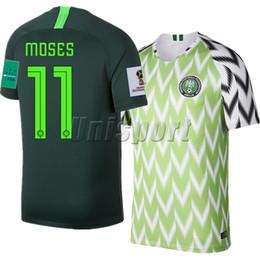 Nigeria Чемпионат мира 2018 по футболу Iwobi Home Away Мужские футбольные майки Iheanacho Musa Futbol Camisa Национальный комплект футболок Camisetas Майки Maglot от