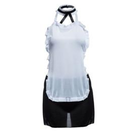 2018 sexy Maid Uniform Underwear Dress Femmes Lady Cosplay Lingerie Sexy Ensemble Sexy Costumes Noir et Blanc Vêtements Exotiques Uniforme ? partir de fabricateur