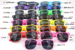 38b7d9b39a 100pcs Womens and Mens Most Cheap Modern Beach Sunglass Plastic Classic Style  Sunglasses