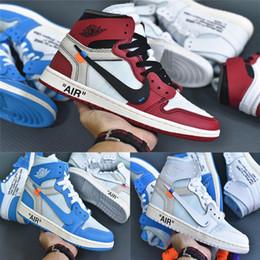 online retailer e4ab8 7a953 2019 scarpe da basket blu bianca 2018 nuovo realese Qualità Nuovo 1 Chicago  rosso polvere blu