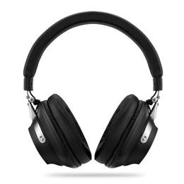 2019 annulation du bruit sur l'oreille Casque d'écoute Bluetooth à annulation de bruit actif repliable sur l'oreille ANC Réduction du bruit Casque sans fil avec câble amovible avec micro annulation du bruit sur l'oreille pas cher