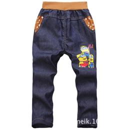 Argentina Venta al por menor 2018 pantalones de los niños del bebé ropa pantalones largos de dibujos animados legging imprimir niños pantalones de algodón pantalones largos estilo fresco 15A003 Suministro