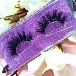 Wholesale Sexy Hair Extensions - Seashine Luxury Mink Lashes Customize boxes Mink Lash Sexy 100% Handmade 3D Mink Eyelashes Extension Free Shipping one Style