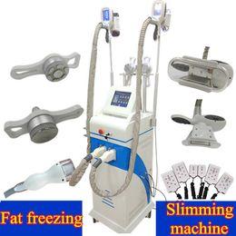 Wholesale Cellulite Ultrasound Machine - 2018 cryo fat freezing machine cryotherapy Ultrasound RF lipo laser machine ultrasonic cavitation cellulite beauty machine