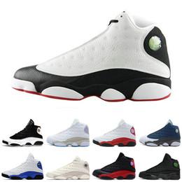 Nouveau 13 13 s basket chaussures noir chat Hyper Royal olive blé armée vert bleu Chicago 13 s sport chaussures sneaker formateur livraison gratuite ? partir de fabricateur