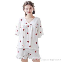 Canada Femmes 2018 Mode Pyjamas Femmes D'été Dame Imprimer Sexy Pyjamas Femmes Mignon Pyjamas Ensemble Sexy Sous-vêtements Offre