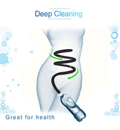 Половая влагалища онлайн-Silicone Anal Cleaning Connect With Bottle Anal Washer Enema Vagina Medical Themed Toys Enema Cleaner With Long Tube Sex Toys