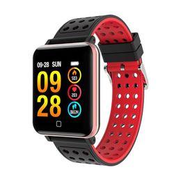 Argentina SOVO M19 Pulsera Inteligente Presión Arterial Frecuencia Cardíaca Smart Brand Sports Medidor de Pulso Pulsera de Natación Impermeable Reloj Bluetooth Suministro