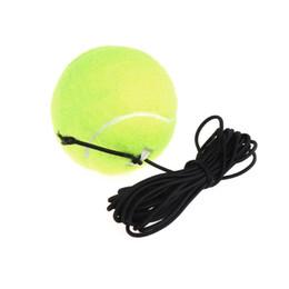 Green Resilience Tennis Balls Trainer Exercise Cordón de goma Elastic Band Rebound desde fabricantes