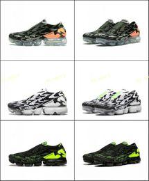 Wholesale x volt - Acronym X VaporMax FK Moc 2 Black Volt Light Bone Mens running shoes Sports Shoes Athletic Sneakers Casual shoes Free Shippment