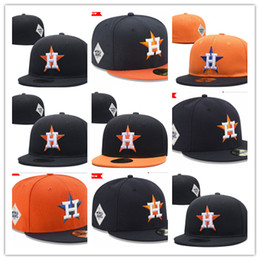 Wholesale Adult Houston - 2018 HOT Houston Fitted Hats Baseball Fitted Hats sports hats High quality