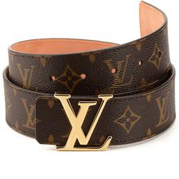 2020 Venta caliente Nuevo diseñador Famoso Cinturones de lujo Hombres Mujeres Cinturones Cinturón masculino Cinturón de hebilla de aleación de cuero auténtico para regalo desde fabricantes