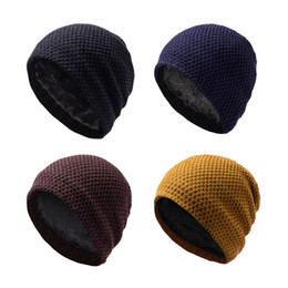 Wholesale Head Skis - Wholesale-Winter Thicken Skiing Cap Cover Ears Keep Head Warmer-Skiing Snowboarding Riding Multicolor Cationic Beanie Sports Hat
