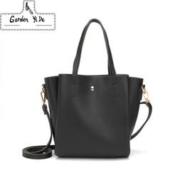 ceb9af6f80da Fashion Women s Handbags Crossbody Bag luxury handbags women bags designer  Shoulder Bag Solid Bucket bags for women 2018