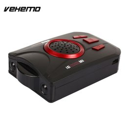 Wholesale Russian Scan - Vehemo Car Detector Car Radar Speed Control Detector M8 Russian Universal Drive Safely Voice Alert Warning Full Band Scanning