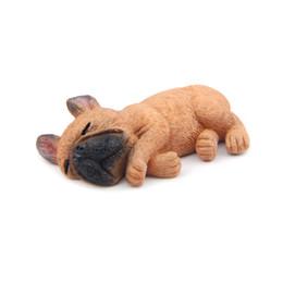 3D Magnete Bulldog francese Carino cane a pelo Frigorifero Lavagna magneti per la decorazione della casa ufficio vendita calda di trasporto libero nuovo 2018 da