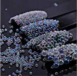 perles de manucure Promotion 4 conception Perle Nail Art Décorations Cristal Strass Charme Manucure Nail Art Accessoires DIY Outils 5 KKA5005