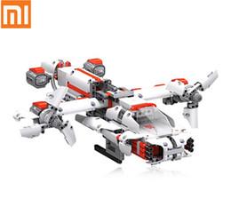 Трансформаторный телефон онлайн-Оптовая Mi робот MITU DIY Bluetooth Smart Phone Control Self Assembled Building Block трансформаторы робот модуль Kit игрушка для ребенка